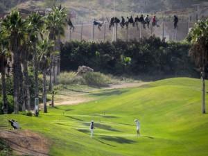 Melilla vs golfers