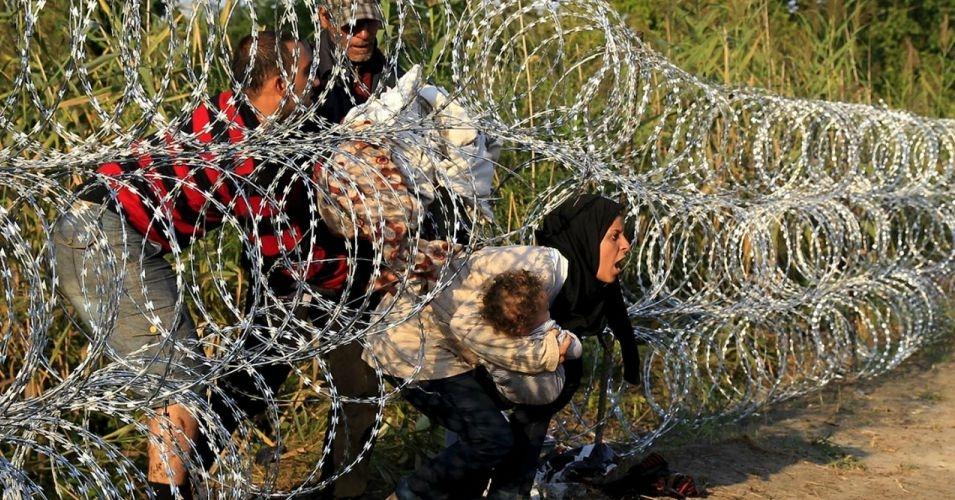 Hungary border fence september