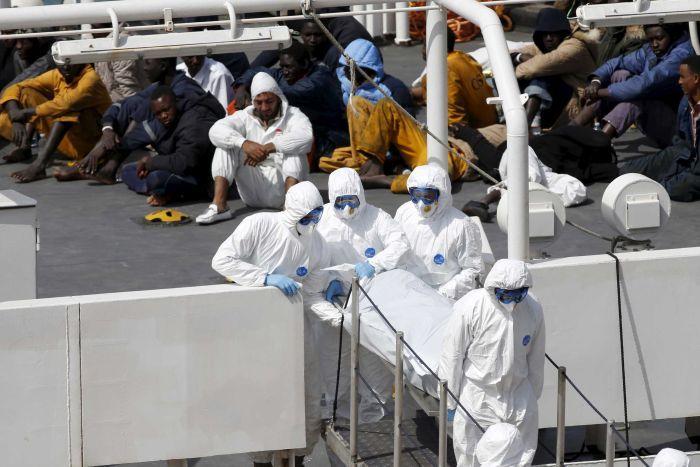 Sinking off Malata -April Reuters